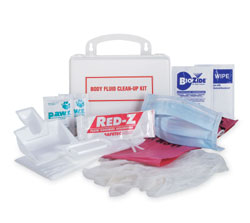 National Standard Spill clean-up Kit for School Buses