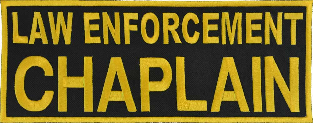 Law Enforcement Chaplain Patch