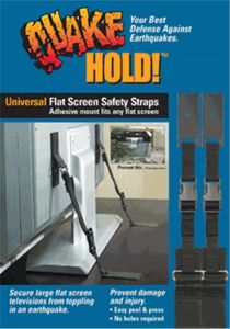 Universal Flat Screen TV Strap kit