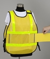 Model #PON5-VW Poncho Style Incident Command System Vest