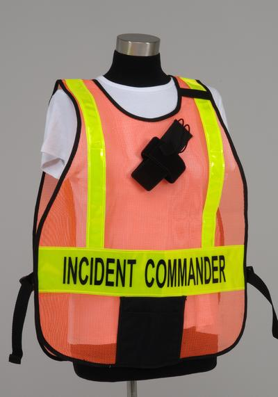 Pon5 ICS Vest shown with Optional Radio Holster and standard pocket