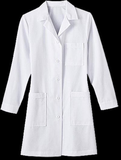 "Womens 37 inch Labcoat Meta, Womens Labcoat, 37"" ladies labcoat, female labcoat, discounted womens labcoat"