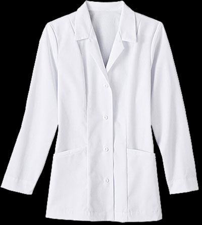 30 Inch Ladies Labcoat