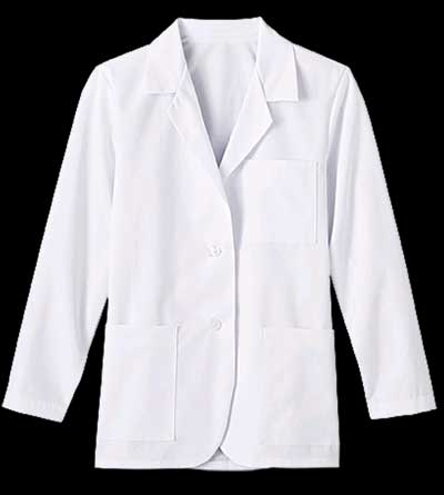 Womens Fundamentals Consultation Coat labcoat, womens labcoat, woman, labcoat, lab coat,