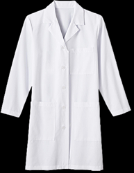 Womens 37 Inch Soil Release Labcoat Womens, 37 Inch Soil Release, Labcoat, ladies labcoat, female labcoat