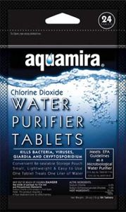 Aquamira Water Purifier Tablets (24 pack)