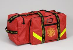 XXX Large Turnout Gear Bag with Helmet Pocket and Shoulder Strap