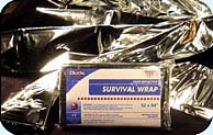 Foil Survival Blankets - case of 240