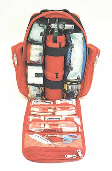 Large Urban Rescue Trauma BackPack Multipocket Config.