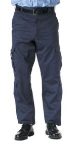 Navy Teflon-Coated Deluxe EMT Pants