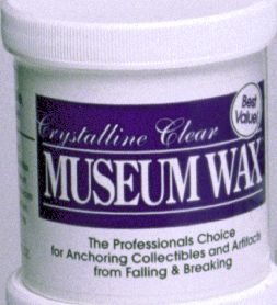 Quakehold  Clear Museum Wax  -13 oz  jar