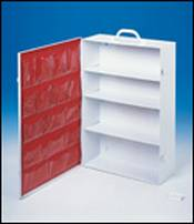 4 Shelf Industrial Cabinet with Swing Out Door 15 in x 21.825 in x 5.5 in - 1 each