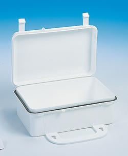 10 Unit Economy Plastic First Aid Box