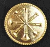 Uniform Button  Asst Chief Bugle Sold in pairs