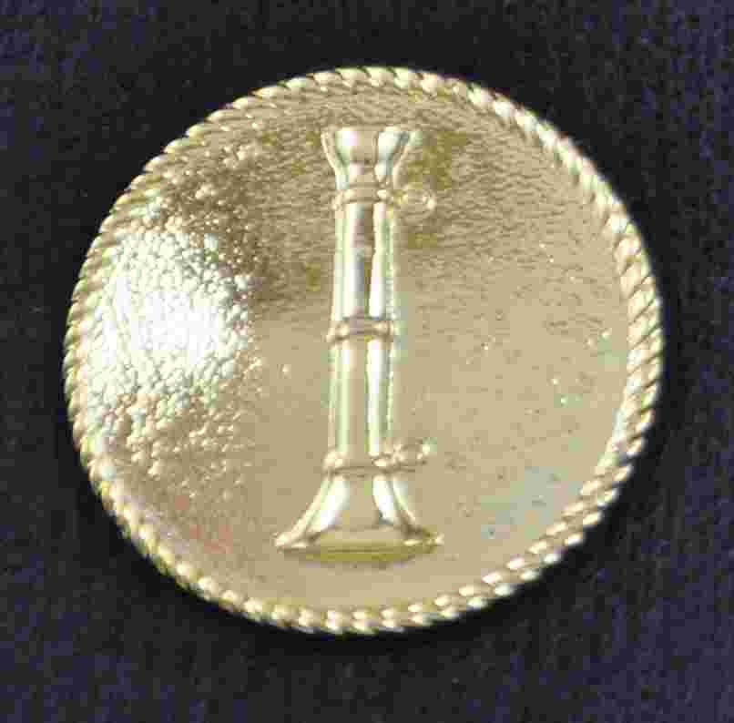 Uniform Button Single Bugle Sold in pairs