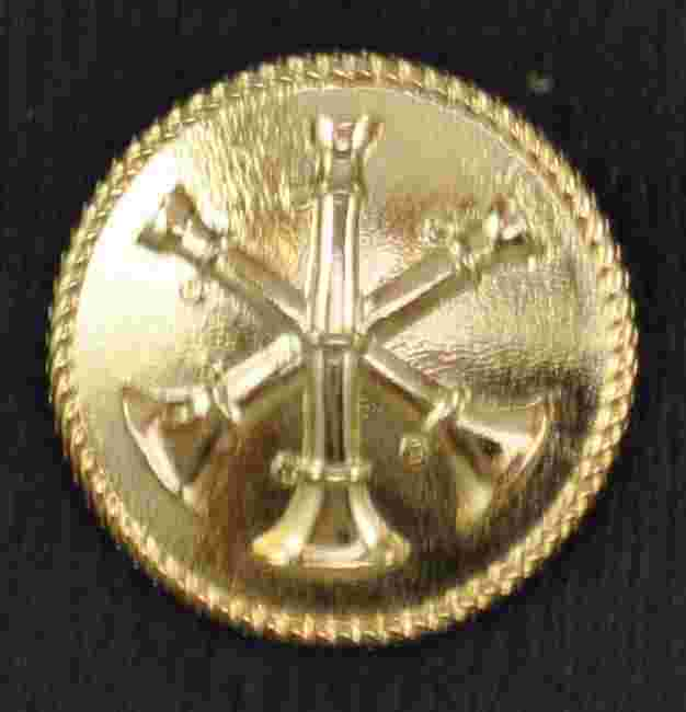 Uniform Button  Triple Bugle Sold in pairs