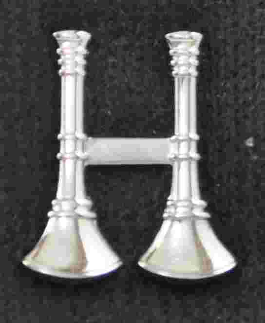 Double Bugle Pin Sold in pairs