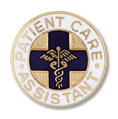 patient care assistant emblem pin pm1038