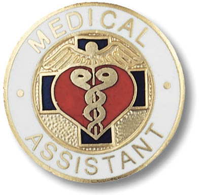 Medical Assistant Emblem Pin