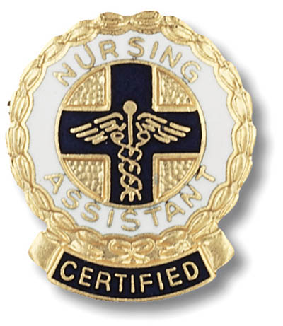 Certified Nursing Assistant Emblem Pin CNA