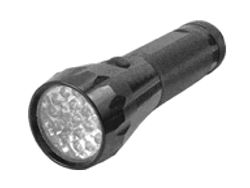 BLACK 19 LED FLASHLIGHT