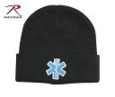Star of Life Watch Cap for emts and paramedics