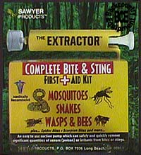 Sawyer Extractor - Snake and Insect Kit