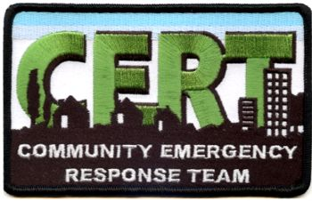 Embroidered Patch - CERT