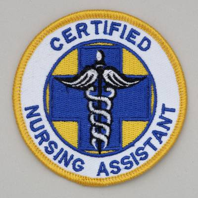 Embroidered Patch - Certified Nursing Assistant Patch