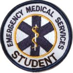 Embroidered Patch - Emergency Medical Services - Student