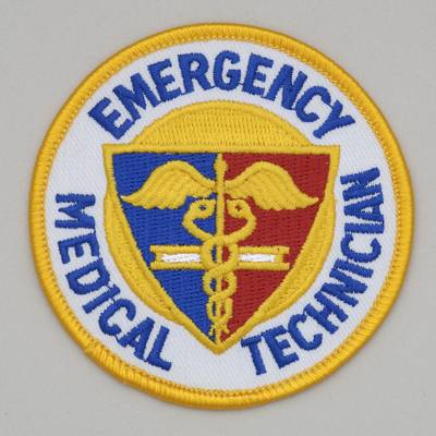 Embroidered Patch - Emergency Medical Technician