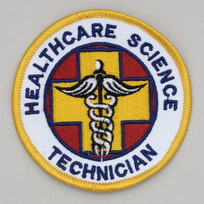 Healthcare Science Tech - Embroidered Patch