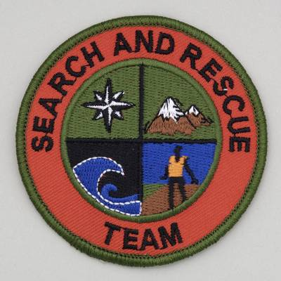 Embroidered Patch - Search and Rescue
