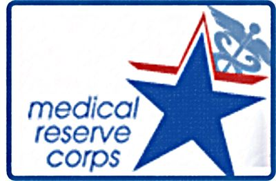 Large Medical Reserve Corps Patch MRC patch