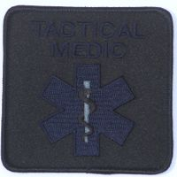 Embroidered Patch - TACTICAL MEDIC