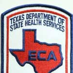 Texas EMS Patches