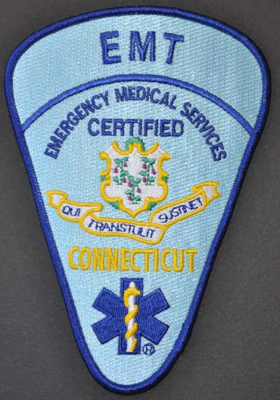 Connecticut EMT Patch