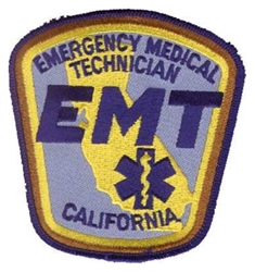California EMT Patch