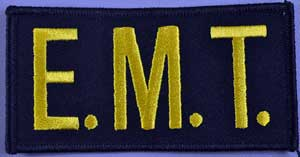EMT Chest Emblem Gold/Navy