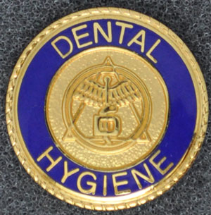 Dental Hygiene Graduation Pin
