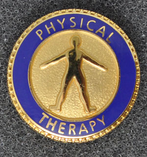 Physical Therapy Graduation Pin