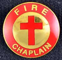 Fire Chaplain Pin with Cross fire chaplain, chaplain, fire uniform, fire emblem,