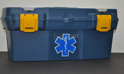 Police Style Trunk First Aid Kit police, trunk first aid kit, patrol car, first aid kit, patrolman, trunk kit,