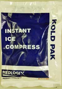 Case Instant Cold Pack - Junior 5 x 7 - 48 per Case Ice pack, Instant ice pack, ice compress, cold pack, kold pak, koldpak, instant, instant cold pack, junior size