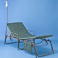 FEMA ADA Special Needs Cot with rails fema cot, shelter cot, medical cot, disaster cot, disaster bed, first aid station cot