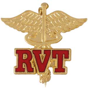Registered Veterinary Technician Pin vet, vet pin, RVT pin,