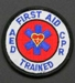 First Aid, CPR, AED Trained Mini Patch - SSPAT-34