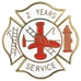 2 years Fire Service pin - SS-FIRE-2