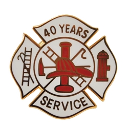 Fire Department 40 Years of Service