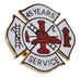 45 years Fire Service pin - SS-FIRE-45